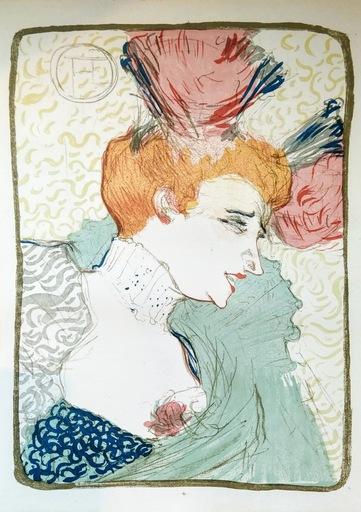 Henri DE TOULOUSE-LAUTREC - Print-Multiple - Mlle. Marcelle Lender, en buste