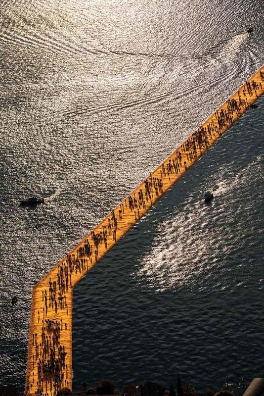 CHRISTO - Fotografia - Lago d'Iseo - WV06