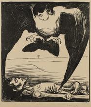 Edvard MUNCH - Grabado - Harpyie