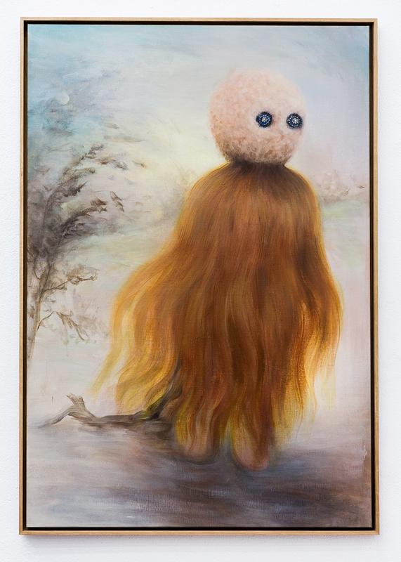 MISS VAN - Painting - The Wind In My Hair 2