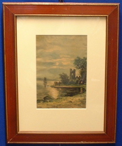 Carl Olof LARSSON - Painting - Grez sur Loing/Barbizon from the 1880ths!