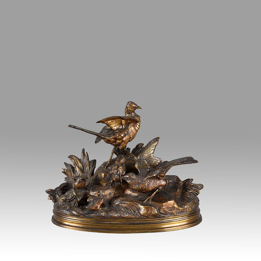 Jules MOIGNIEZ - Sculpture-Volume - Bird Family