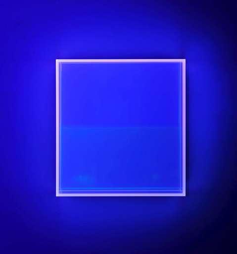 Regine SCHUMANN - Sculpture-Volume - Colormirror rainbow soft pink-blu Amsterdam