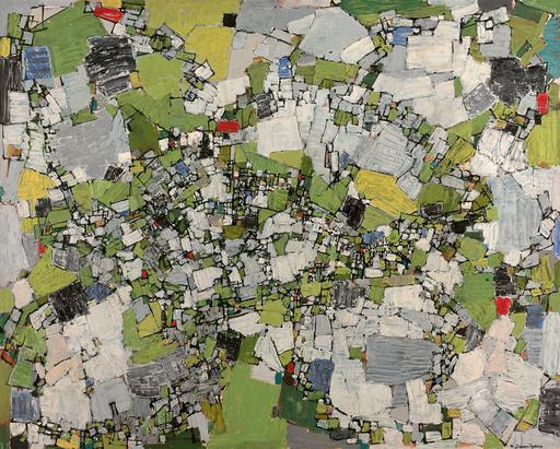 Natalia DUMITRESCO - Gemälde - Au fur et à mesure que l'angle de vue se déplace