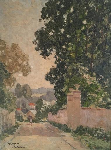 Gustave LOISEAU - Pintura - Paysage à Pontoise