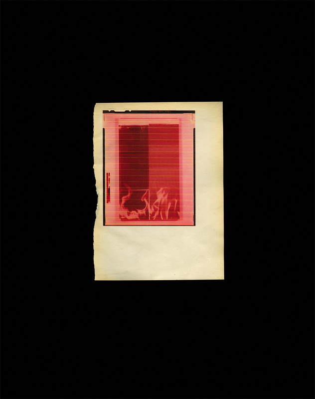 Wade GUYTON - Estampe-Multiple - Untitled Red Fire for SMC