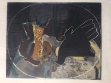 """乔治•布拉克 - 版画 - """" Pichet et Oiseau """""""