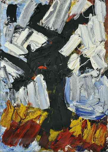 Franz GRABMAYR - Pintura - Winterbaum
