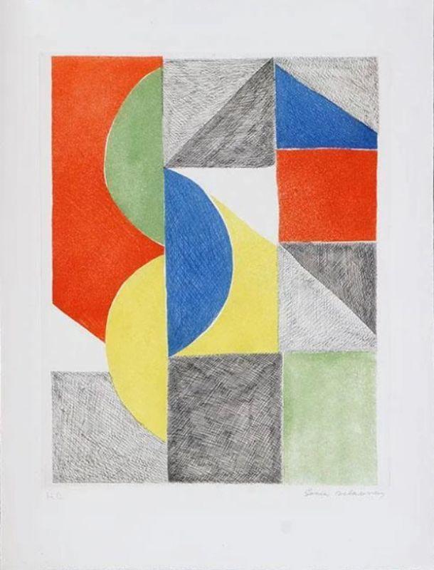 Sonia DELAUNAY-TERK - Print-Multiple - Venise