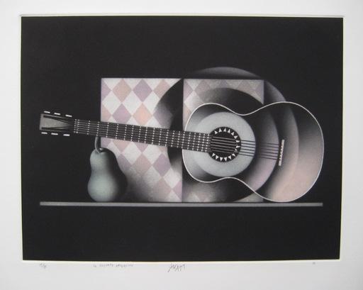 Mario AVATI - Druckgrafik-Multiple - GRAVURE 1983 SIGNÉE AU CRAYON NUM/85 HANDSIGNED NUMB ETCHING