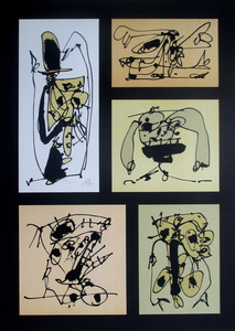Antonio SAURA - Print-Multiple - Cinco en uno