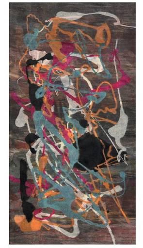 NUVOLO - Pittura - Serotipia su carta