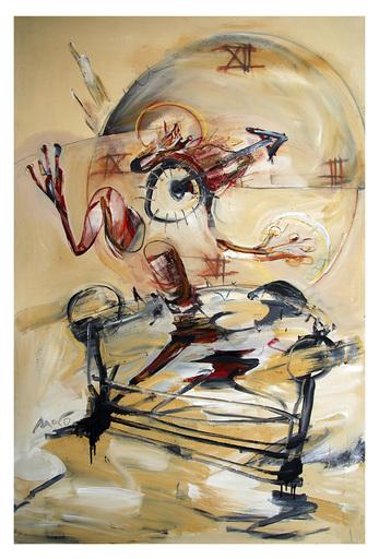 Luis MORO - Painting - Orologio