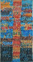 Mahjoub BEN BELLA - Pintura - Totem Rouge