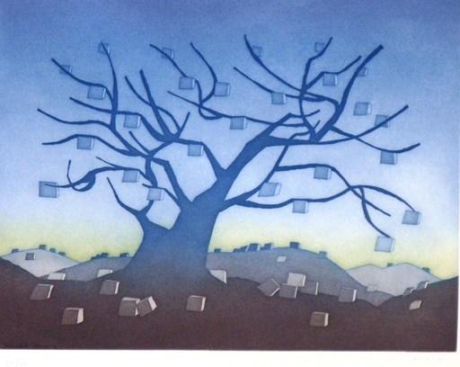 Jean-Michel FOLON - Druckgrafik-Multiple - Money Tree