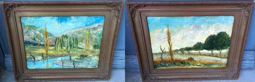 Anthony GROSS - Gemälde - Pair of Oils