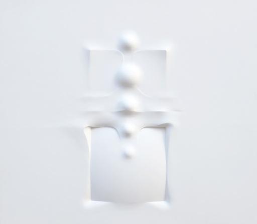 Horst KUHNERT - Pintura - Raumflächen