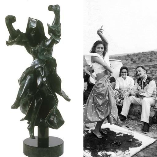 萨尔瓦多·达利 - 雕塑 - Carmen Castanets (Prestige Scale)