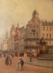 Gustave MASCART - Pittura - Ostande