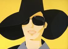 亚历克斯·卡茨 - 版画 - Vivien In Black Hat