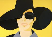 Alex KATZ - Estampe-Multiple - Vivien In Black Hat
