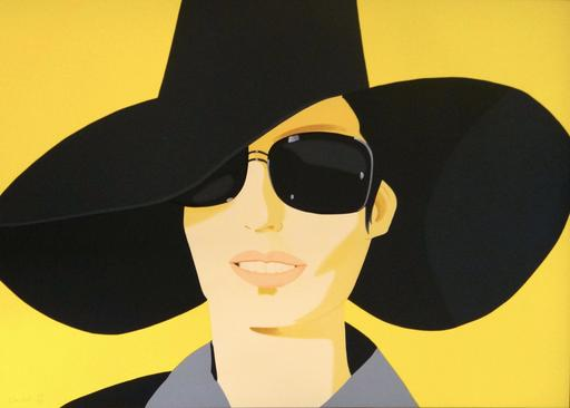 Alex KATZ - Print-Multiple - Vivien In Black Hat