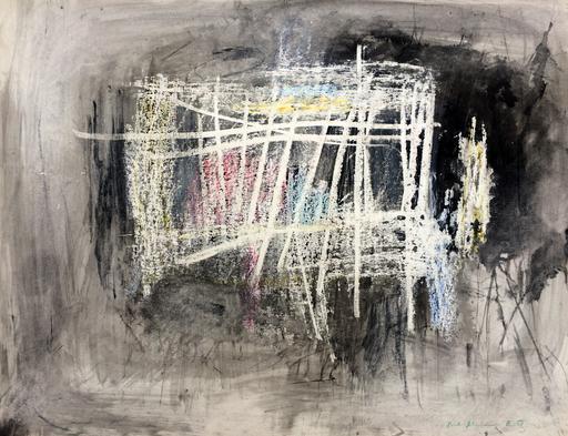 Hans BISCHOFFSHAUSEN - Drawing-Watercolor - Raum des Wassers
