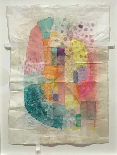 Marie LHOMET - Drawing-Watercolor - « Dots 3 »