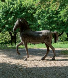 Serge MANSAU - Sculpture-Volume - Le cheval Vénitien