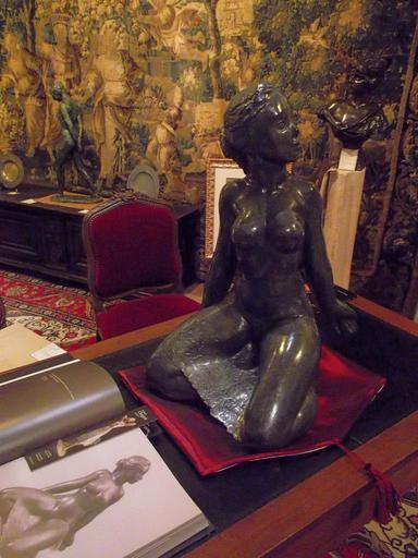 Yvonne CLERGERIE - Escultura - Petite conscience en éveil.