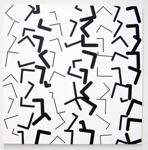 Véra MOLNAR - Painting - Angle droits D