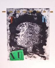 James COIGNARD - Estampe-Multiple - Profil ''TR''  - 1978