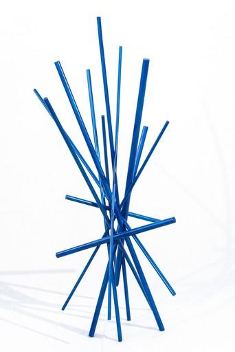 Shayne DARK - Sculpture-Volume - Full Tilt Blue Maquette