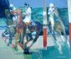 Paul AMBILLE - Pintura - La partie de polo