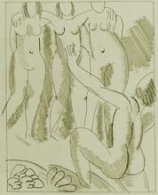 亨利·马蒂斯 - 版画 - Nausicaa, from: Ulysses
