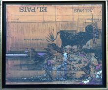 Claude HASTAIRE - Pintura - l'actualité de goya  paris 1989