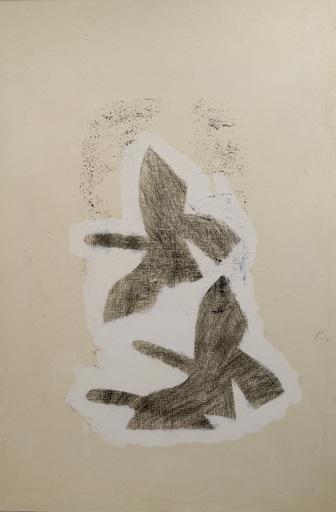 Georges BRAQUE - Drawing-Watercolor - Les Trois Oiseaux