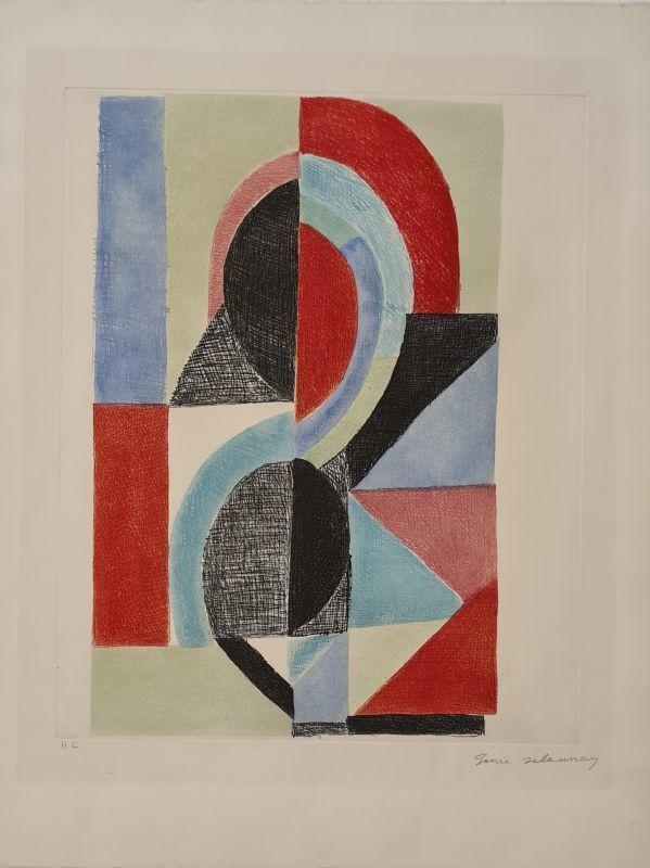 Sonia DELAUNAY-TERK - Print-Multiple - Sans titre
