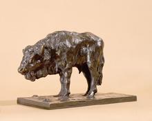 Guido RIGHETTI - Sculpture-Volume - Bison.