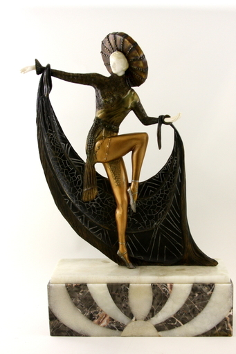 Claude MIRVAL - Sculpture-Volume - Dancer