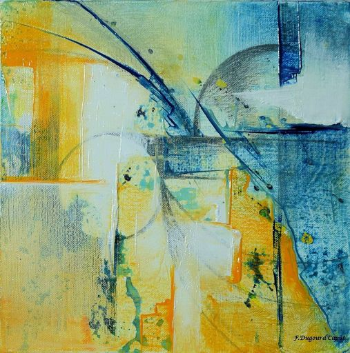 Françoise DUGOURD CAPUT - Painting - Emergence