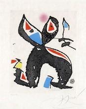 Joan MIRO (1893-1983) - Le Marteau sans Maître planche I