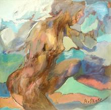 Ludmilla MOSHEK - Painting - Nuages