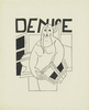 Juan GRIS - Drawing-Watercolor - Denise