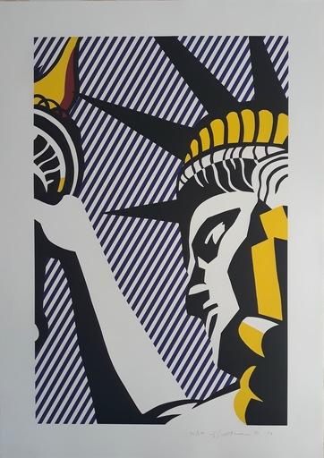 Roy LICHTENSTEIN - Stampa-Multiplo - I Love Liberty