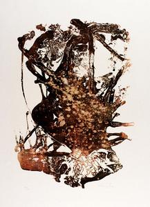 August PUIG - Print-Multiple - Abstraction en Brun