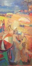 Marie ASTOIN - Painting - La plage