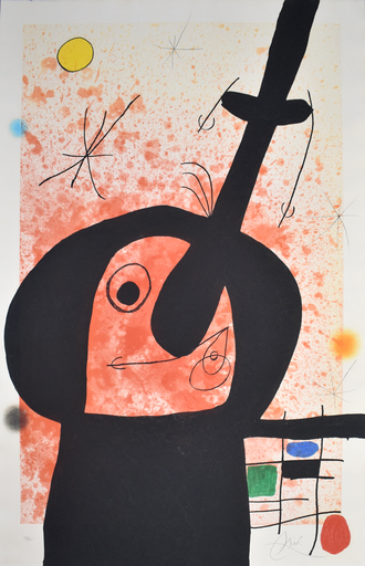 Joan MIRO - Estampe-Multiple - The Great Thinker | Le penseur puissant
