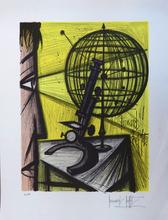 Bernard BUFFET - Stampa Multiplo - Le Microscope