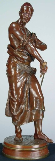 Georges Charles COUDRAY - Escultura -  Guard